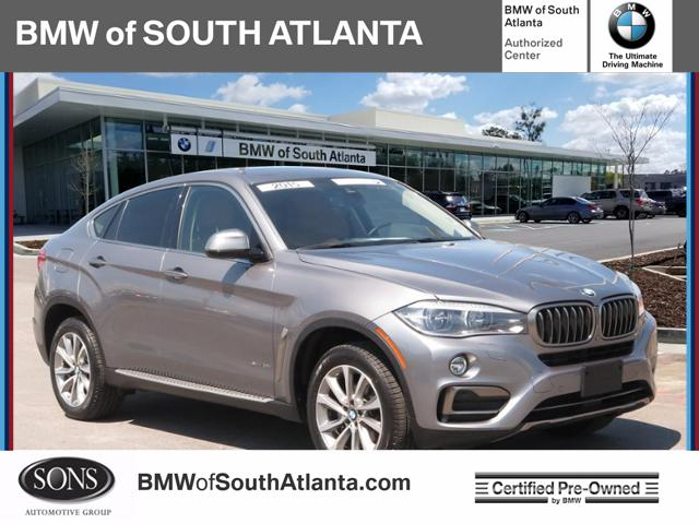 Bmw Of Atlanta >> Certified Pre Owned 2015 Bmw X6 Xdrive35i Sport Utility In Union