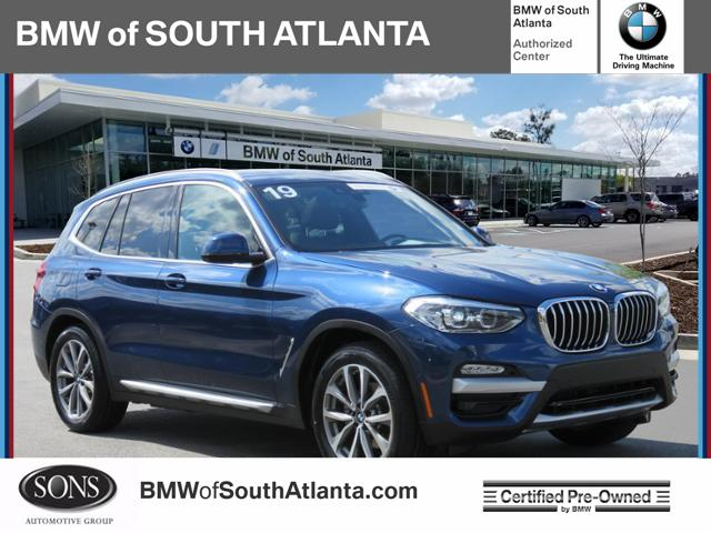 Certified Pre-Owned 2019 BMW X3 sDrive30i Rear Wheel Drive sDrive30i Sports Activi
